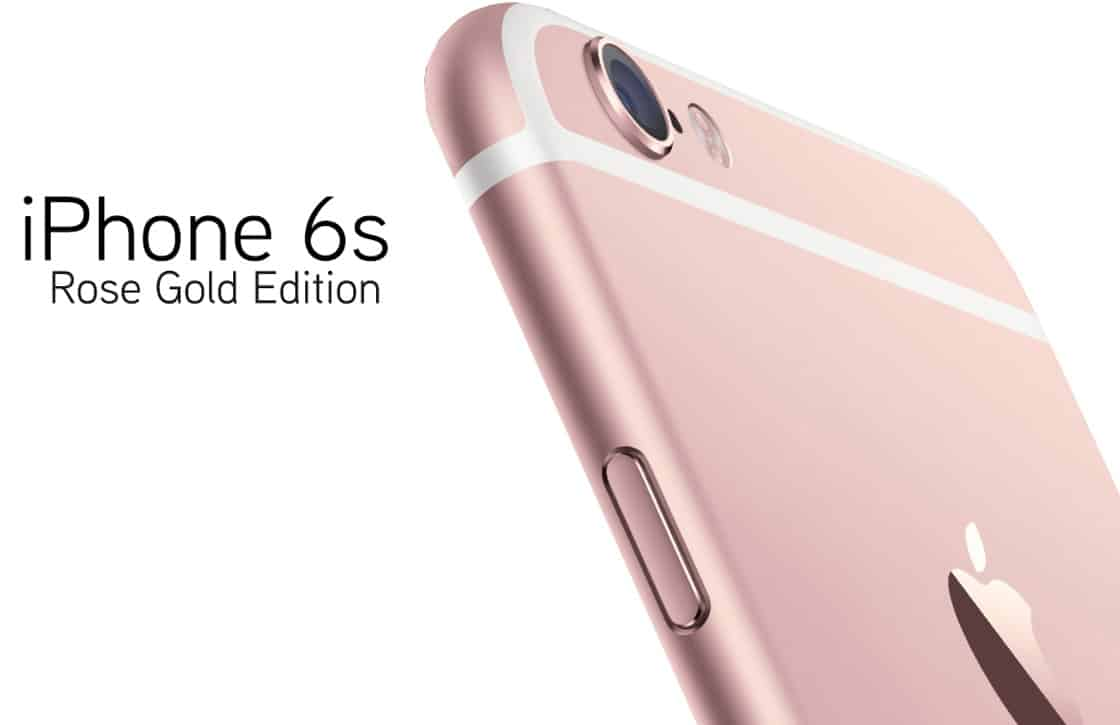 iphone6s-rose gold