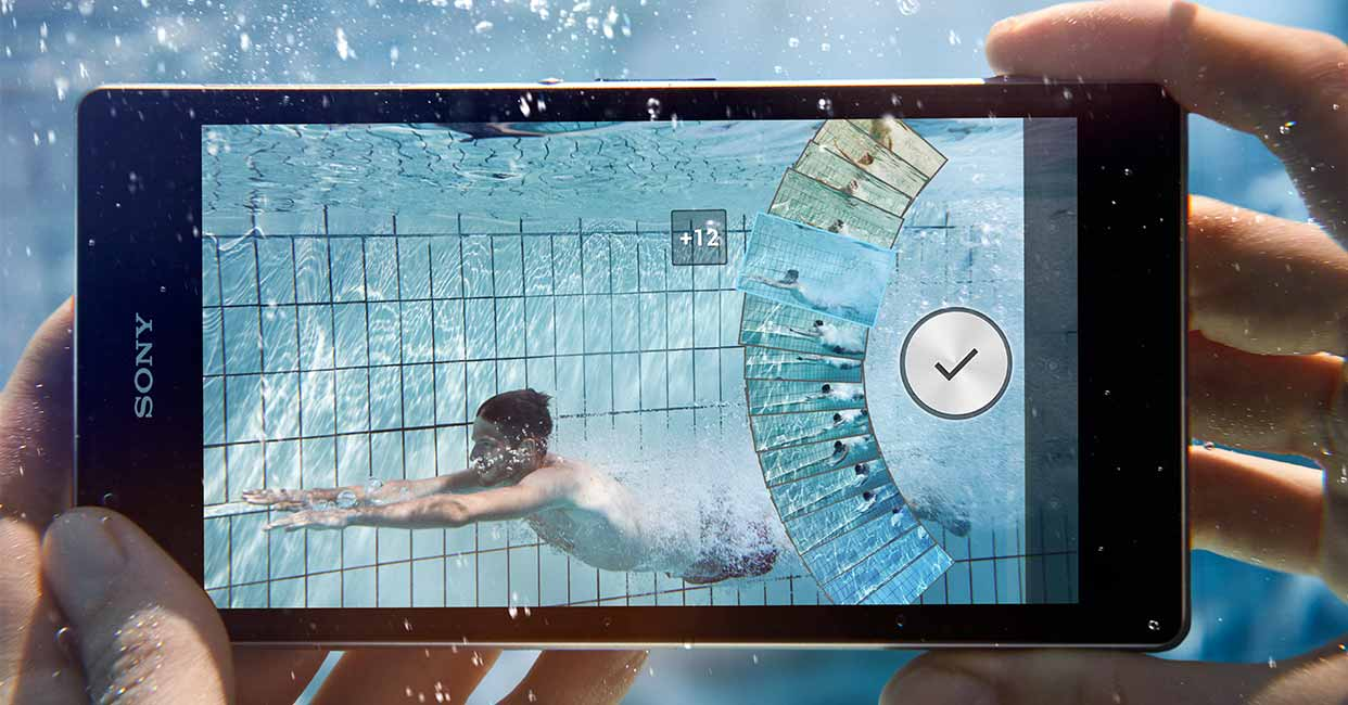 sony experia under water3