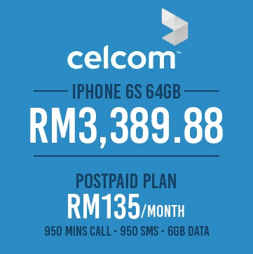 celcom-iphone6s-price