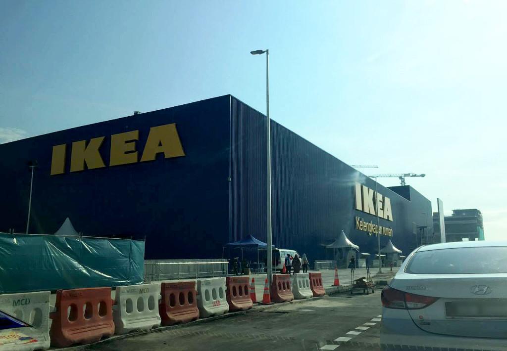 photos the new larger ikea cheras officially open today