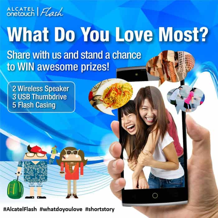 alcatel-flash-contest
