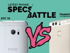 [Infographic] Specs Battle: HTC 10 Vs. Huawei P9