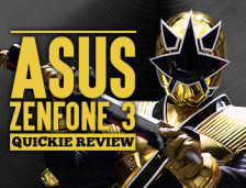 [Review] ASUS Zenfone3 – The Gold Power Ranger