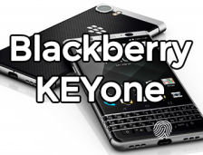 BlackBerry KEYone With Fingerprint Sensor!