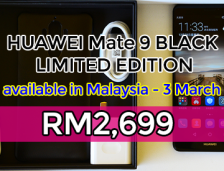 Huawei Mate 9 BLACK Limited Edition Available In Malaysia on 3 March, ~RM2,699!