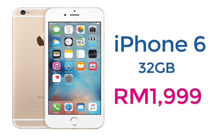 iphone 6 32gb officially available at malaysia switch storethe price only rm1999