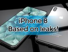 iPhone 8 Based On Leaks!