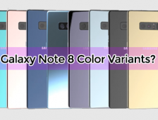 Samsung Galaxy Note 8 Will Have 8 Color Variants ?