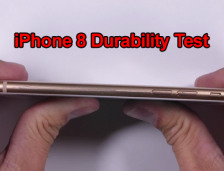 iPhone 8 Durability Test – BEND TEST – Glass Scratch Video!