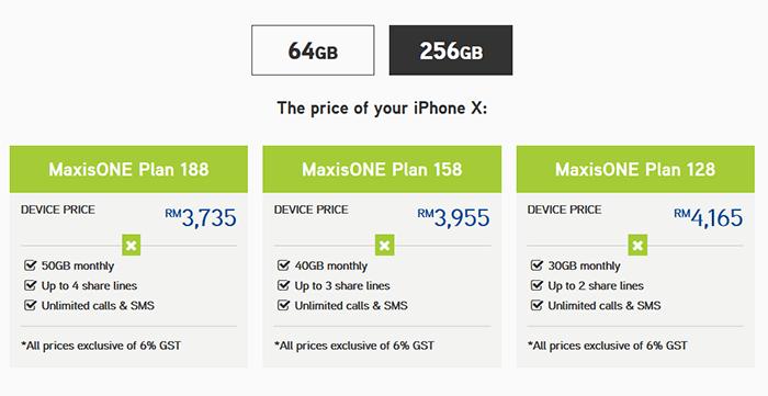Maxis, Digi, Celcom & U Mobile iPhone X Pre-Order Plan! | Clickuz