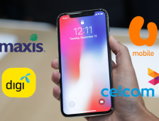 Maxis, Digi, Celcom & U Mobile iPhone X Pre-Order Plan!