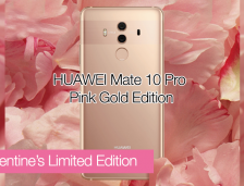 HUAWEI Mate 10 Pro Pink Gold Limited Edition Available On 8 Feb 2018.