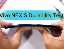 Vivo NEX S – Hidden Camera Durability Test! – Scratch and Bend.