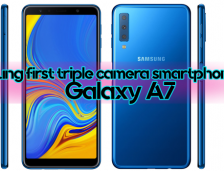Samsung Launched A First Triple Camera Smartphone | Galaxy A7
