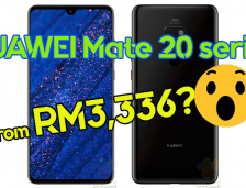 HUAWEI Mate 20 Series Prices From RM3,336?