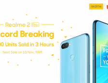"Record Breaking: REALME 2 Pro Was The ""BEST-SELLING ITEM"" On The Shopee 1.11 BIG SALE!"