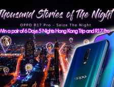 Join The 'Thousand Stories of the Night' Contest and Stand A Chance To Win The Grand Prizes | OPPO