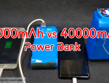 How To Build a 20000 vs 40000mAh Power Bank With 26650 Battery.