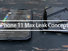 Apple iPhone 11 Max Leak Concept Phone